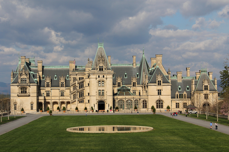 Biltmore House in Asheville North Carolina