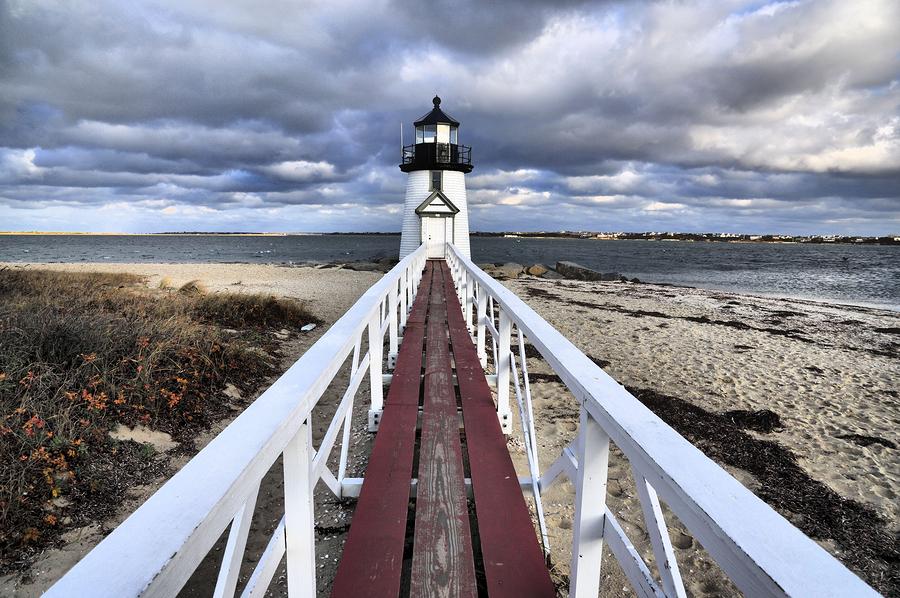 Brant Point in Nantucket, Massachusetts