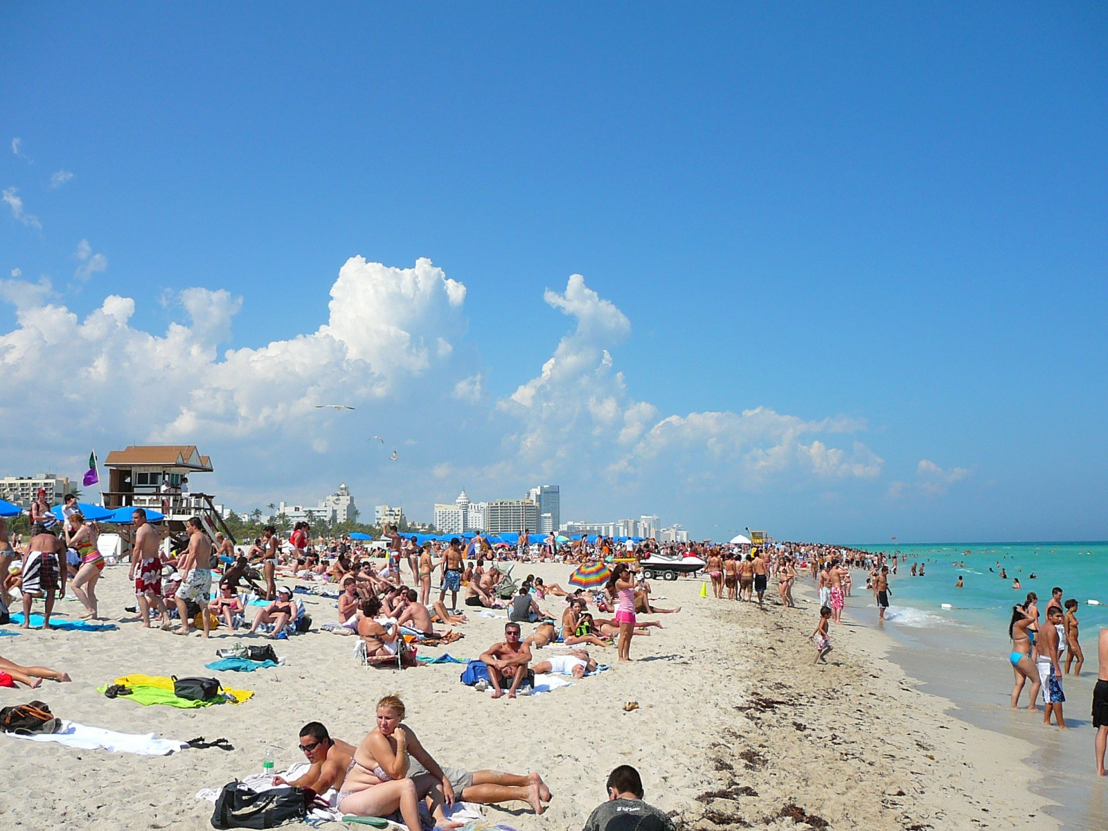 A Typical Winter Day On South Beach Miami Florida 1600 1200