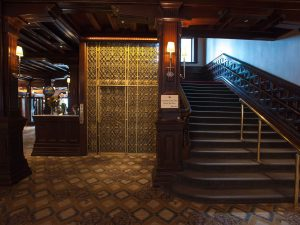 This beautiful and ornate elevator is something you are unlikely to see anywhere. That's because it is the original elevator built at the Hotel del Coronado in San Diego back in 1888.