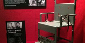 ...and see the actual chair used in Nevada's gas chamber.