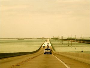 There are an astounding 42 bridges linking the Keys with the longest being the Seven Mile Bridge. In addition, Key West, at 77 degrees, has the warmest average yearly temperature of any city or town in America.